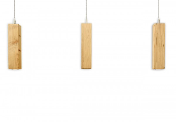 Ausstellungsstück Pendellampe Rocket Altholz Fichte/Tanne 3er-Set - SO-38509 FI/TA