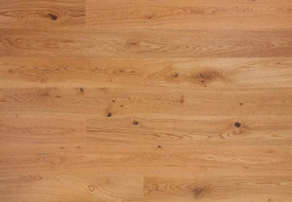 Landhausdiele Eiche Rustik gebürstet naturale matt lackiert - 70300