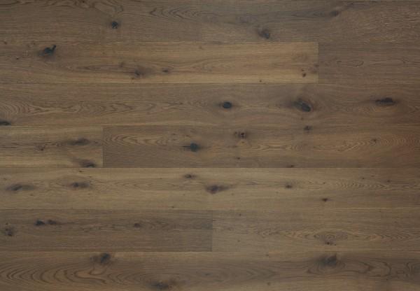 Schlossdiele 4000 Wildeiche gebürstet angeräuchert titanblau geölt - 36108