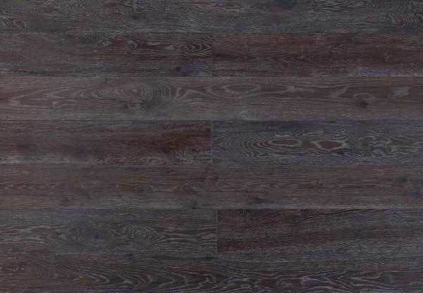 Landhausdiele Eiche Yukon handgehobelt gebürstet geräuchert gekalkt geölt - 60311