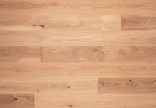 Gutsboden Asteiche gebürstet gelaugt mittel weiß geölt - 99031