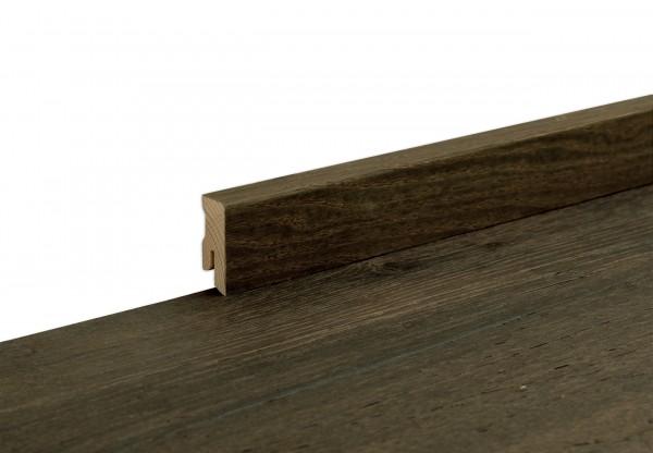 Sockelleiste furniert Cube Altholz grau geölt - 11703