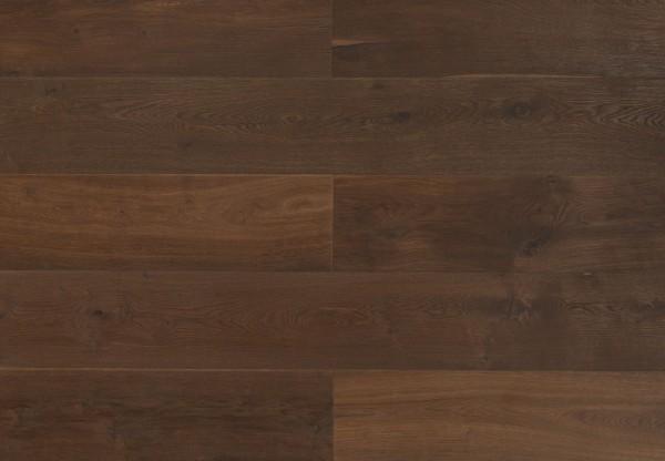 XL Breitdiele Eiche Oregon handgehobelt dunkel geräuchert geölt - 60424