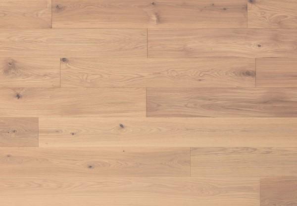 Gutsboden Asteiche wellengehobelt weiß geölt - 99020