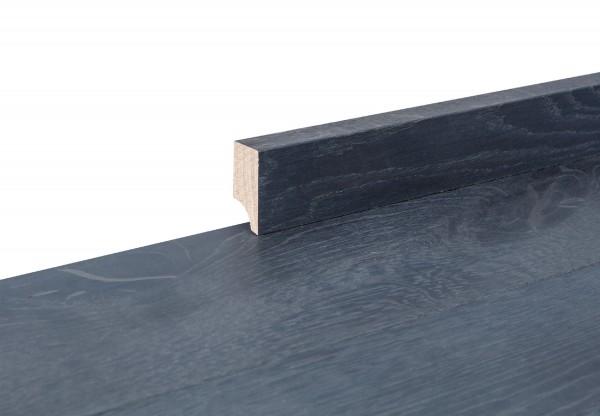 Sockelleiste massiv Typ2 Eiche titanblau gelaugt geölt - 90834