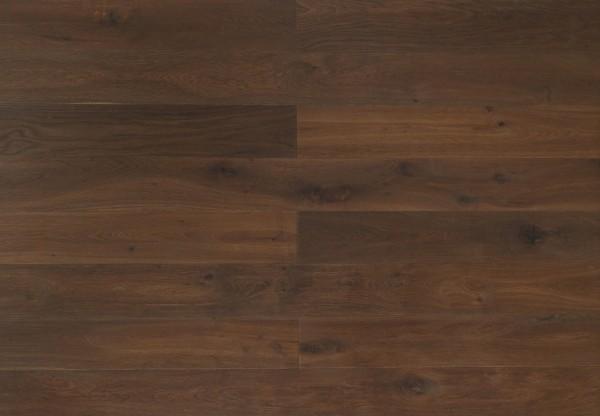 Langriemen Eiche Kalahari handgehobelt dunkel geräuchert geölt - 60433
