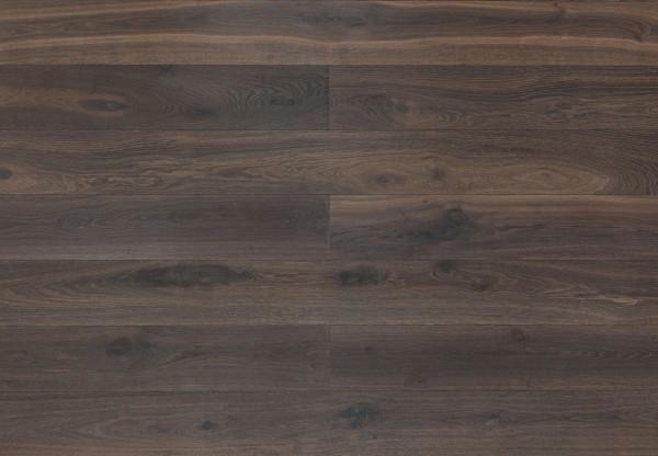Landhausdiele Wildeiche gebürstet kerngeräuchert roh-optik geölt - 34105