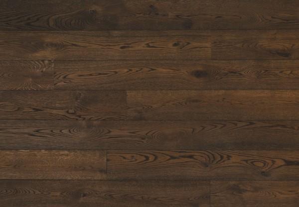 Gutsboden Wildeiche tiefgebürstet angeräuchert schwarzbraun geölt - 99022
