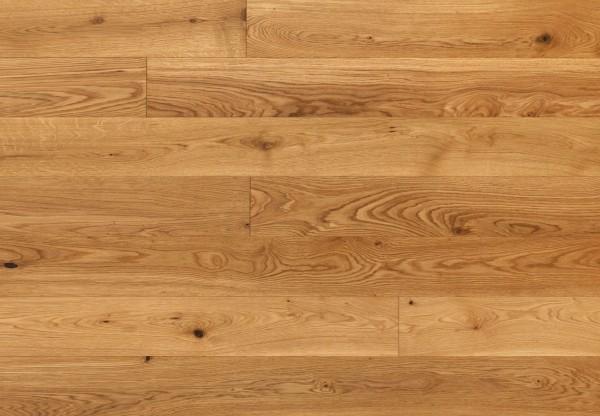 Massivholzdiele Asteiche gebürstet geölt - 90023