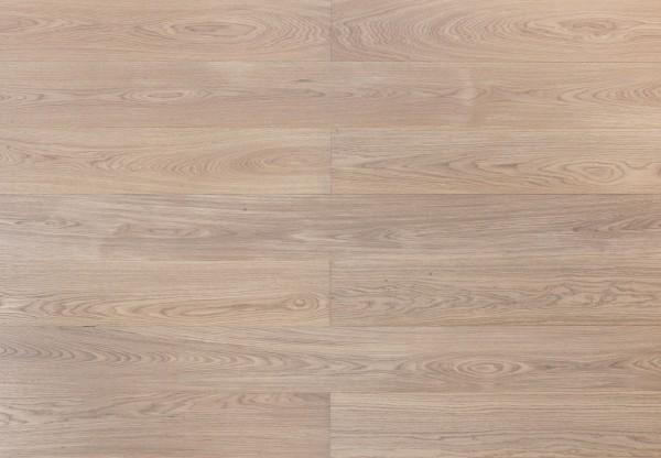 Landhausdiele Edeleiche gebürstet leicht grau geölt - 33680