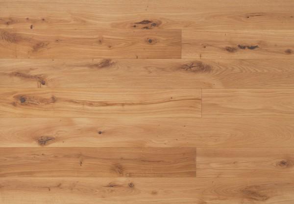 Gutsboden Wildeiche gebürstet leicht weiß pigmentiert geölt - 99033
