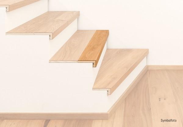 Restposten Treppenkantenprofil 3-Schicht mit Abschluss passend zu Artikel-Nr. 60415 - SO-38001-60415