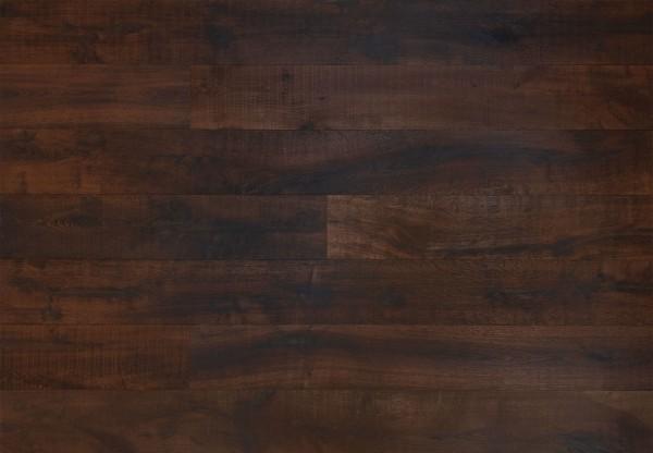 Landhausdiele Eiche Havanna handbearbeitet gesägt gebürstet dunkel geräuchert geölt - 60455