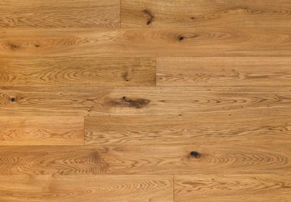 Massivholzdiele Wildeiche handgehobelt geölt - 90060